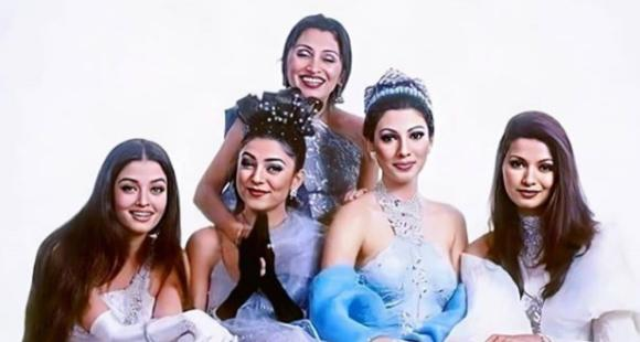Aishwarya Rai, Sushmita Sen strike a perfect pose with other pageant winners in a rare throwback picture