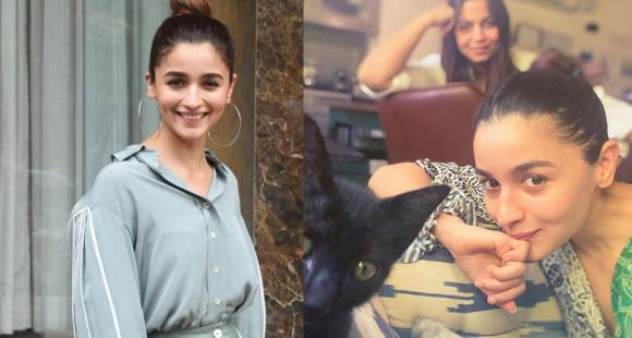 Alia Bhatt, Shaheen Bhatt start weekend on a pawtastic note as they introduce pet cat in a beautiful selfie