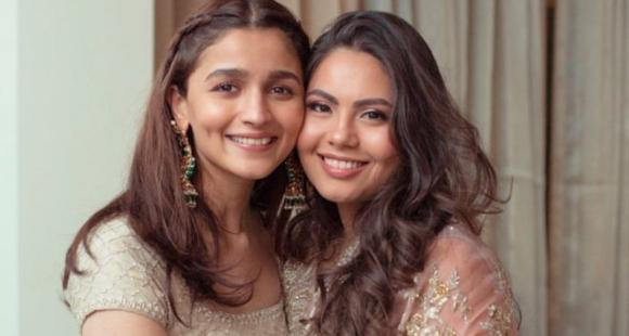 Alia Bhatt's dolled up picture with her best friend makes us wish the wedding season was here; Check it out