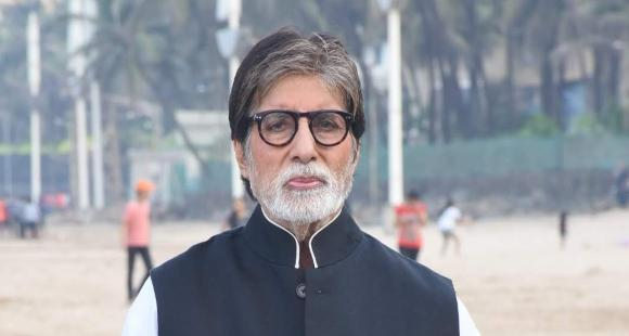 Amitabh Bachchan shares a PIC of himself suited up in black as he pens his late night thoughts - PINKVILLA