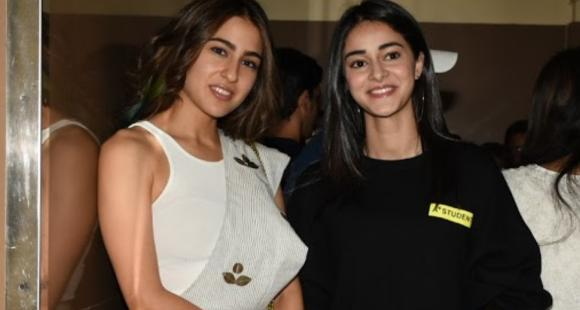 Ananya Panday feels healthy competition is fun; Says 'Told Sara Ali Khan she's fabulous in Coolie No 1 songs' - PINKVILLA