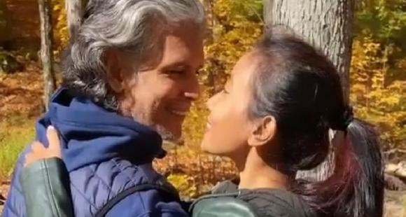 Ankita Konwar shares a cute video with Milind Soman; Says 'Capturing a moment is like bottling a scent'
