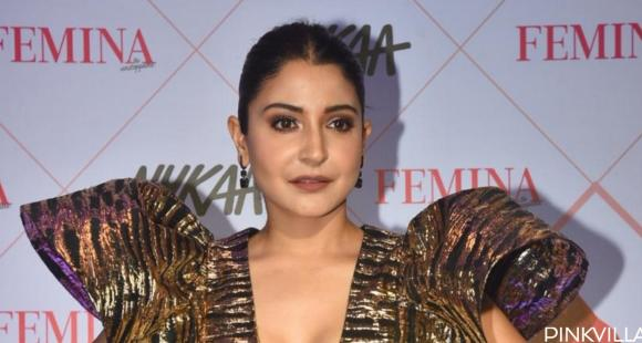 PHOTOS: Anushka Sharma adds glamour to her metallic look with those sleeves at the Femina Beauty Awards 2020