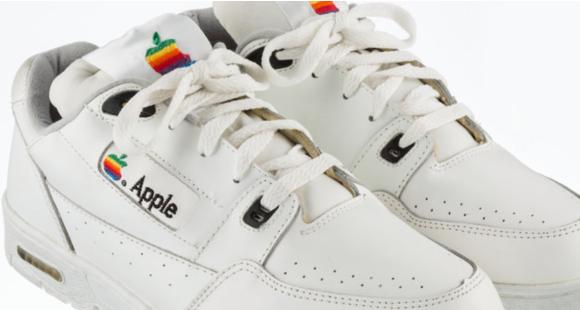 Used and 'rare' sneakers made by Apple in the '90s sold for THIS whopping amount and it will blow your mind