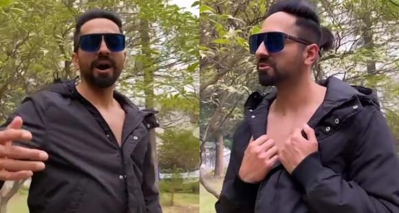 Ayushmann Khurrana loves Justin Bieber & Shawn Mendes' track Monster and enjoys jamming to it; WATCH - PINKVILLA