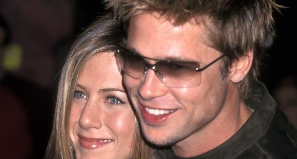 When Brad Pitt REVEALED he used to crowd around Jennifer Aniston like moth to a flame: She provides the warmth