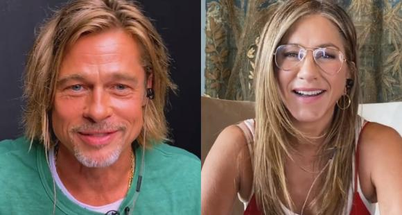 Brad Pitt & Jennifer Aniston get flirty as the former has an erotic  dream during Fast Times table read - Buzz Facts News