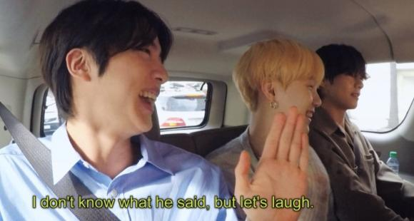 Bts Carpool Karaoke Jin Suga Troll Rm To Bestow Army With Meme