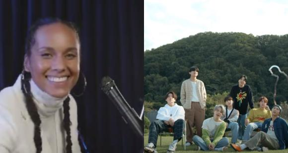 VIDEO: Alicia Keys surprises BTS with a mini cover of Life Goes On; Septet REACTS to the beautiful recreation