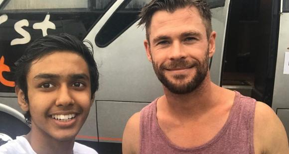 Exclusive Extraction Star Chris Hemsworth Wore Wigs Played Pranks With Crew On Sets Reveals Rudraksh Jaiswal Pinkvilla