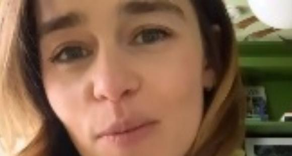 Game of Thrones actor Emilia Clarke offers a virtual date to raise money for COVID 19 relief fund