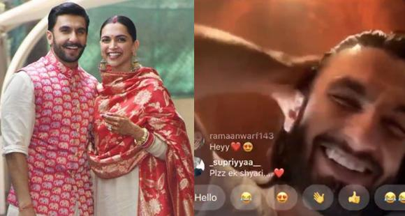 Deepika Padukone scolds Ranveer Singh during live with Ayushmann Khurrana; Asks him not to shout