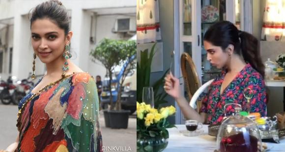 Deepika Padukone shares a quirky video of checking herself after eating birthday cake & it is every girl ever - PINKVILLA