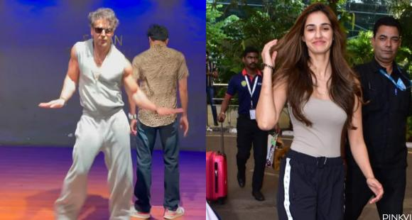 Disha Patani is awestruck by Tiger Shroff's killer and smooth moves in his latest dance video; Take a look - PINKVILLA