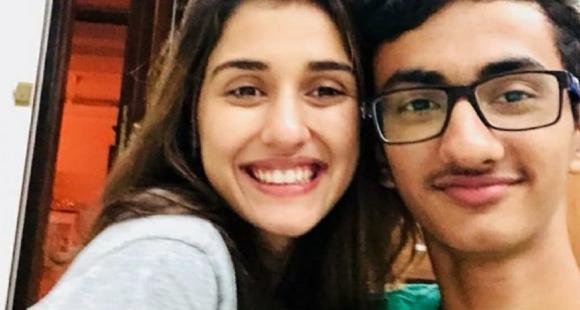 Disha Patani is proud of her little brother's artwork as she drops a pic of it; Tiger Shroff's mom is in awe