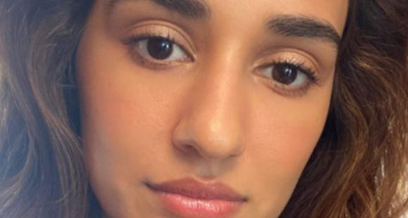 Disha Patani wards off the midweek blues as she shows her makeup skills in a new PHOTO