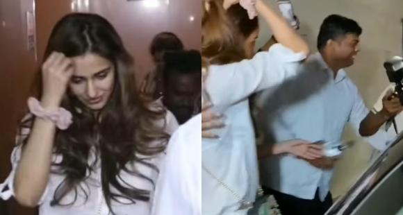 WATCH: Disha Patani's bodyguard gets into a heated argument with the paparazzi over her pictures