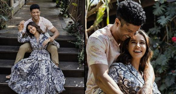 Farhan Akhtar shares his candid picture with his Valentine Shibani Dandekar and we are in awe; See Post