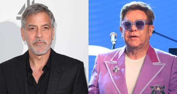 Are George Clooney and Elton John fighting over Prince Harry and Meghan Markle? Find Out