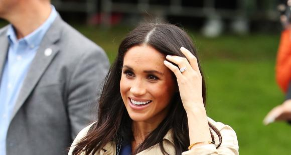 Meghan Markle S New Diamond Eternity Ring Gifted To Her By