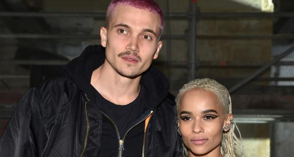 Zoe Kravitz's husband Karl Glusman reveals he proposed marriage to The Batman actress in a Friends tshirt