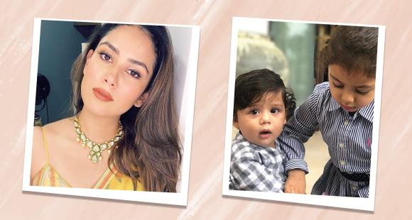 Happy Birthday Mira Rajput: When star wife donned hat of Best Mom as she turned photographer for Misha & Zain - PINKVILLA