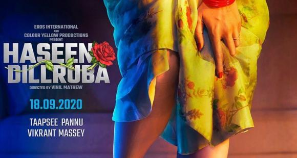 Haseen Dilruba: Taapsee Pannu unveils the FIRST LOOK poster of her upcoming thriller | PINKVILLA