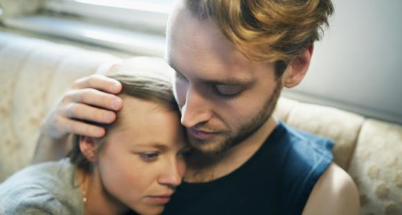 Here's how to comfort your partner when they are stressed