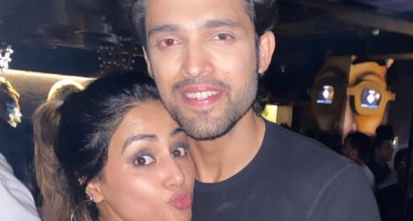 Hina Khan's birthday wish for her former co star Parth Samthaan is too cute to handle; See Pic thumbnail