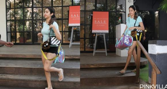 PHOTOS: Janhvi Kapoor doles out major fitness goals as she enters the weekend by hitting the gym