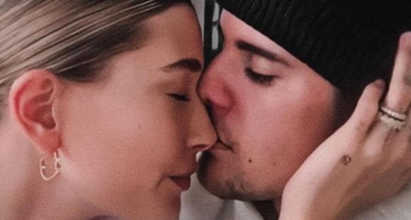 PHOTO: Justin Bieber promises to love Hailey Baldwin for the rest of his life as he shares a romantic selfie