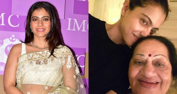 Kajol pens a sweet birthday note for Ajay Devgn's mom Veena: Partner in crime and crab for the last 22 years - PINKVILLA