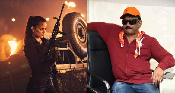 'Kangana Ranaut you are a nuclear bomb', Ram Gopal Varma praises her in now deleted tweet about Dhaakad star - PINKVILLA