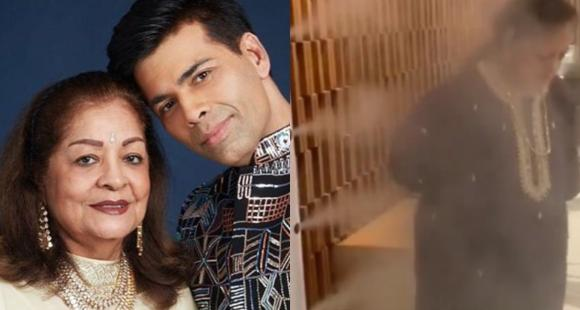 Karan Johar's mother undergoes sanitization process after two staff members test positive for COVID 19; Watch