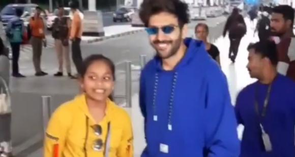 Kartik Aaryan gets swamped by fans as he leaves for Lucknow to shoot for Bhoot Bhulaiyaa 2; Watch VIDEO thumbnail