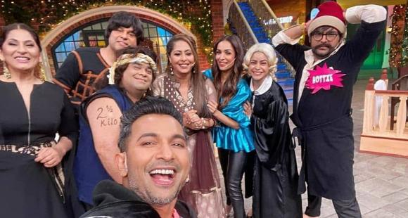 Malaika Arora has a blast on the sets of The Kapil Sharma Show and here's proof; Check it out thumbnail