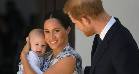 Meghan Markle and Prince Harry's son Archie is already on his feet while Duke & Duchess still house hunting