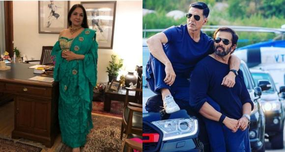 Neena Gupta REVEALS not Rohit Shetty but production assistant told her about her removal from Sooryavanshi thumbnail