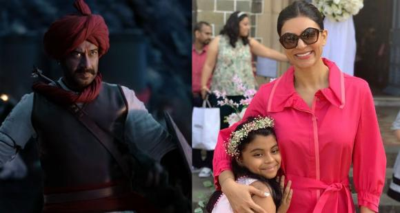 Today Entertainment News, Nov 19: Tanhaji trailer out, Sushmita Sen turns 44 & Mrunal Thakur joins Jersey - PINKVILLA