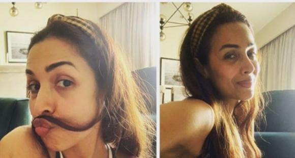 PHOTO: Malaika Arora takes us through her 'various stages of lockdown' & we're in awe of her glow in each one