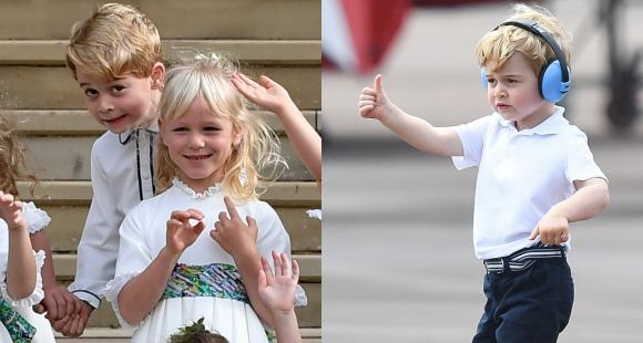 PHOTOS: Check out birthday boy Prince George's goofiest moments in public as he turns 7 today