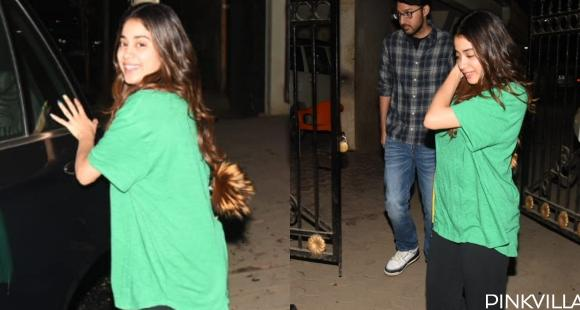 PHOTOS: Janhvi Kapoor flaunts her million dollar smile as she steps out post meeting Arjun Kapoor at his house