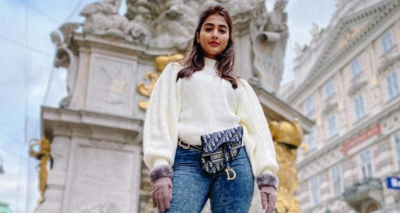 PHOTOS: Pooja Hegde's travel wardrobe is what every vagabond needs to get their hands on; Check out