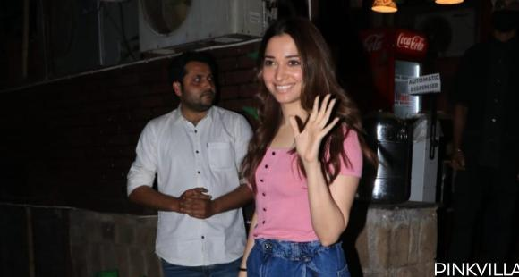 PHOTOS: Tamannaah Bhatia looks effortlessly chic in a pink top and jeans as she steps out in the city
