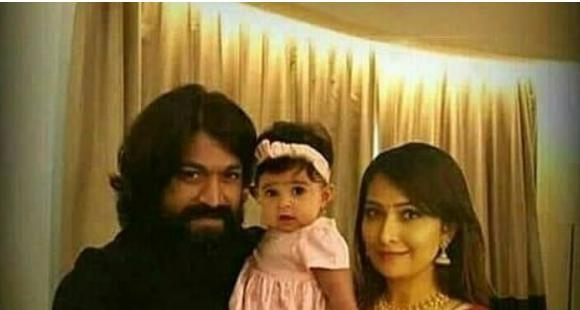 UNSEEN PHOTO: Yash and Radhika Pandit's cutest moment with their