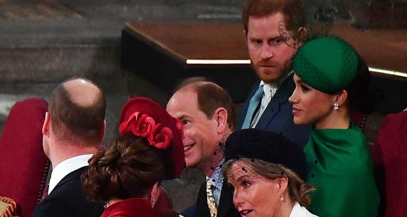 VIDEO: Prince Harry & Meghan Markle ROYALLY ignored by Prince William, Kate Middleton at Commonwealth Service?