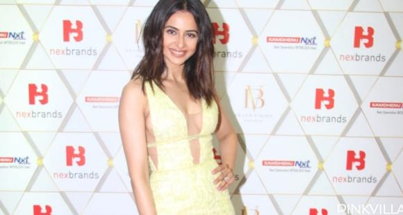 PHOTOS: Rakul Preet Singh looks ravishing in a yellow outfit as she makes a grand appearance at an event