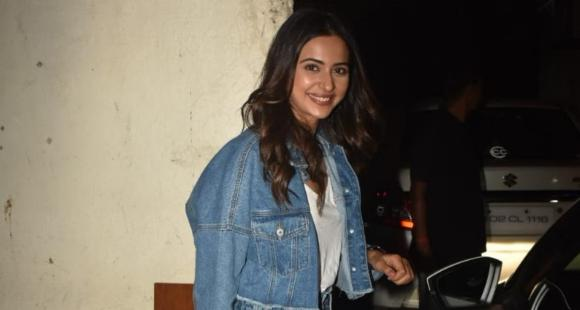 PHOTOS: Rakul Preet Singh's latest look is fit to be all of our denim on denim mantra
