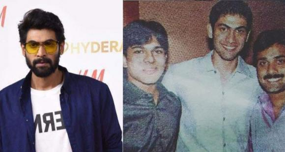 Rana Daggubati looks unrecognisable in THIS throwback picture as he posed with Ram Charan and Tarun