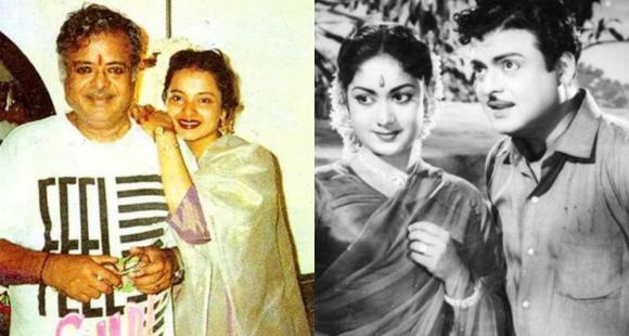 rekhas father and late actor gemini ganesans controversial life his stardom to multiple sensational affairs social